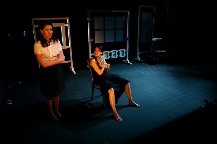 Francis Benhamou and Angela Church in Three Women by Sylvia Plath – 59E59, New York 2010