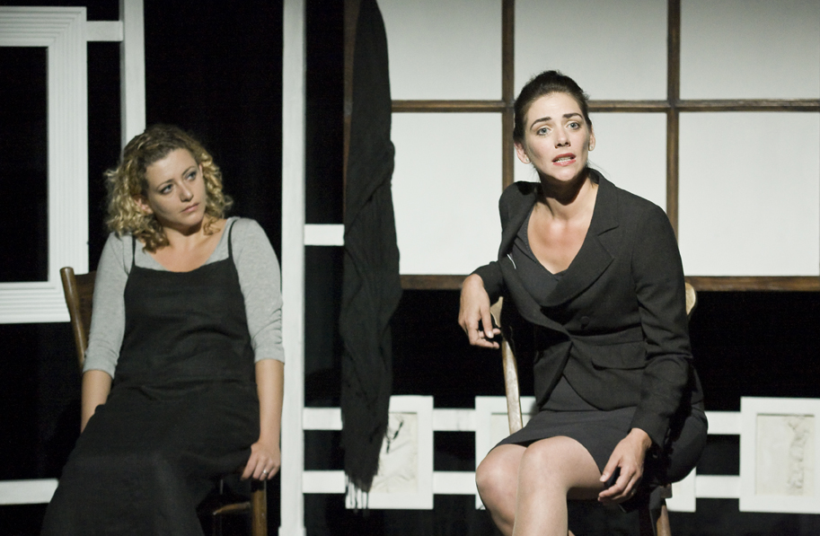 Neve McIntosh and Louisa Clein in Three Women by Sylvia Plath – Assembly, Edinburgh 2009