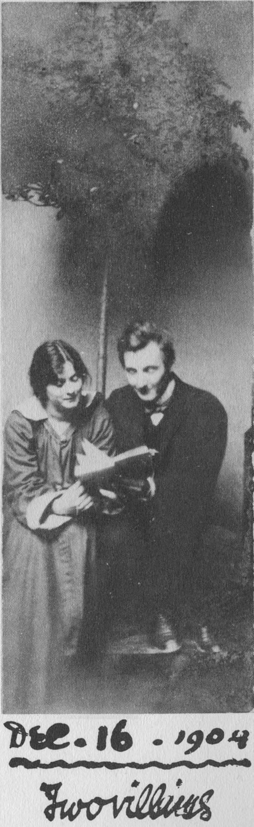 Two Villains – Isadora Duncan and Gordon Craig, Berlin 16 December 1904
